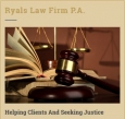 Ryals Law  Firm P.A.